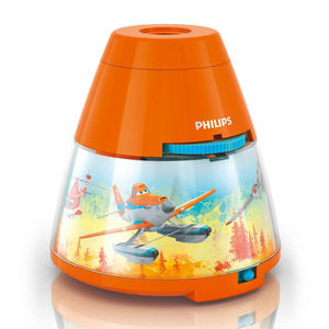 Philips - disney - veilleuse à pile projecteur led orange pl - Kinder Schlummerlampe