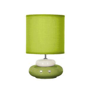 SEYNAVE - lili - lampe à poser vert & beige   lampe à poser  - Tischlampen