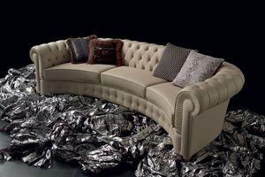 F.G.N DI GIUSTI E NICCOLAI - chester curved - Sofa 3 Sitzer