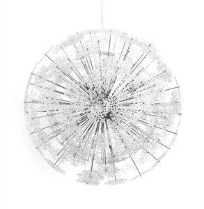 KOKOON DESIGN - suspension design flocons en métal chromé 73cm - Deckenlampe Hängelampe
