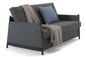 INNOVATION - canapé design neat gris convertible lit 135*200 cm - Bettsofa
