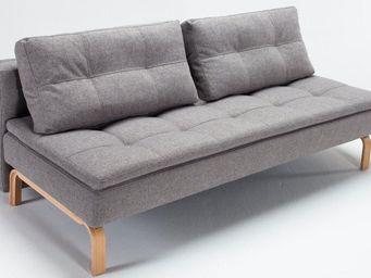 INNOVATION - supreme dual deluxe canapé design gris convertible - Bettsofa