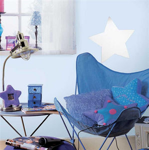 RoomMates - sticker repositionnable miroir etoile 28x28cm - Kinderklebdekor