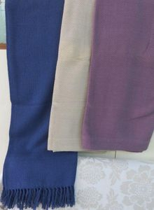 ITI  - Indian Textile Innovation - dobby - Bettüberwurf