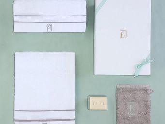 BAILET - coffret cadeau léman - linge de bain - - gris per - Badwäsche Set