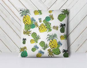 la Magie dans l'Image - coussin ananas motif - Kissen Quadratisch