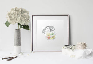 la Magie dans l'Image - print art douceur de printemps - Dekobilder