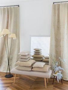 Larsen - collins beige - Kissen Quadratisch