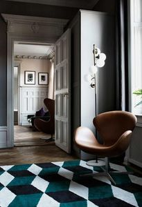 LAYERED - illusion green envy - Moderner Teppich