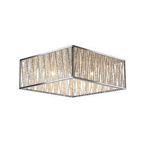 LUCIDE - plafonnier carré viro l41 cm - Deckenleuchte
