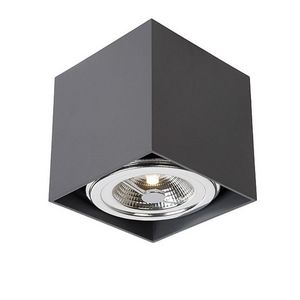 LUCIDE - plafonnier carré orientable dialo led h12 cm - Deckenleuchte