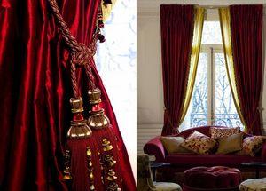 Maïte Mariana - L'Atelier de Décoration - flamboyance - Vorhang