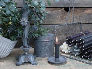 CHIC ANTIQUE - bougeoirs métal - Kerzenständer