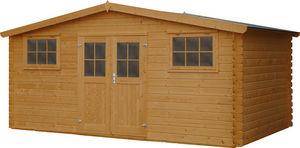 GARDEN HOUSES INTERNATIONAL - abri de jardin en bois cévennes - Holz Gartenhaus