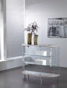 VITRINES SARAZINO - semi-ovale - Schaufenster