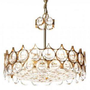 ALAN MIZRAHI LIGHTING - qz7850 crown brass - Kronleuchter