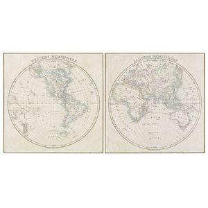 MAISONS DU MONDE - mappemonde 1419878 -