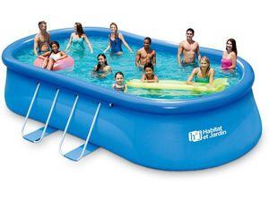Habitat Et Jardin - piscine hors-sol autoportante 1422248 - Schwimmbad Mobil