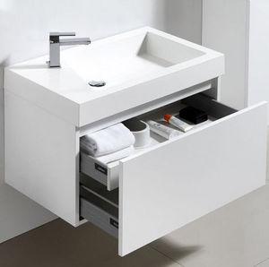 Thalassor - ginger 80 bianco - Waschtisch Möbel