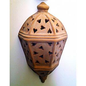 Coli Maioliche E Terrecotte - demi lanterne murale d'extérieur 1436238 - Aussenlaterne