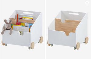 Vertbaudet -  - Kinderbücherregal Mit Rädern