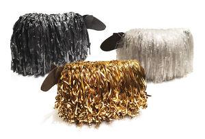 13 RiCrea - puff pecora - Andere Schemel Und Beinauflage