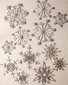 BALSAM HILL - -flocons - Weihnachtsbaumschmuck