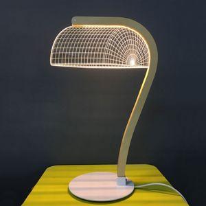 STUDIO CHEHA - banki - lampe led effet 3d - Tischlampen