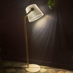 STUDIO CHEHA - ziggi - lampadaire led effet 3d - Stehlampe
