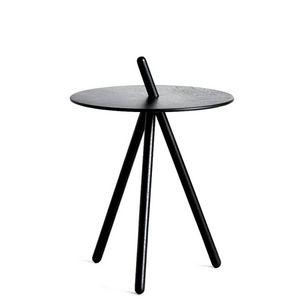 WOUD - come here - table noire h 45 cm - Sockeltisch