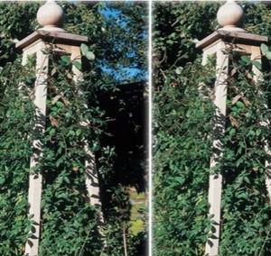 Stuart Garden Architecture -   - Gartenobelisk