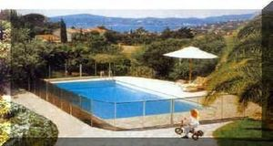 Piscine Securite Enfants -   - Poolzaun