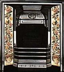 The Edwardian Fireplace -  - Rauchfangmantel