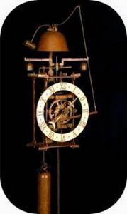 HORLOGES XVÈME SIÈCLE ARDAVIN - horloge murale en fer, cadran blanc - Wanduhr