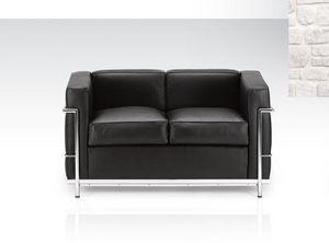 Classic Design Italia - grand confort - Sofa 2 Sitzer