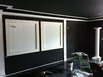 Ombre et lumière - marmorino - Wanddekoration