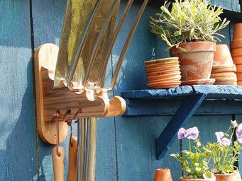 HISTOIRE DE JARDIN - ratelier pour outils - Gartenwerkzeugschrank