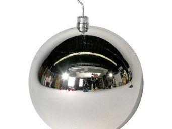 Deco Woerner - w-kugel ø 40cm, silber - Weihnachtskugel