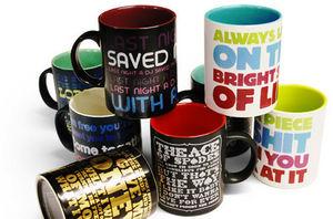Suck Uk - pop art mugs - Mug