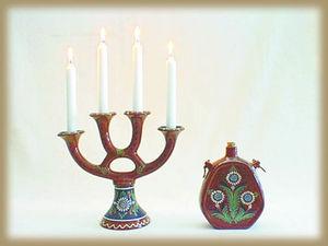 NITTSJÖ KERAMIK -  - Leuchter