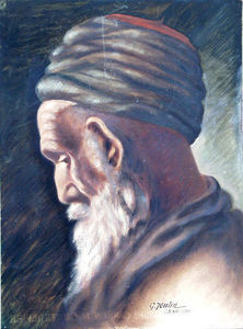 Antiquités Eric de Brégeot -  - Orientalisch Gemälde