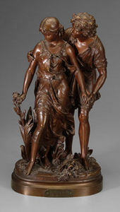 Jacque's Antiques - l'aveu - Skulptur