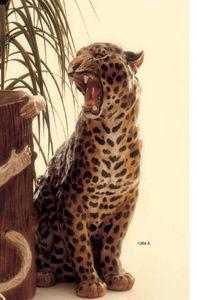 Pugi Ceramiche - panthere - Tierskulptur