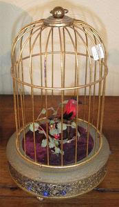 ANTIQUITES THUILLIER - cage à oiseaux - Vogelkäfig
