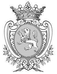 Xavier d'Andeville Héraldiste - dessin à la plume - Tuschezeichnung