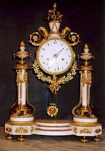Eliane Cohen - pendule - Portico Uhr