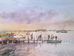 Barry Keene Gallery -  - Aquarell