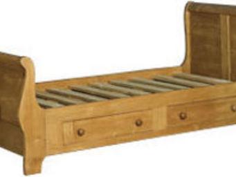 Antic Line Creations -  - Einzelbett Mit Schubladen