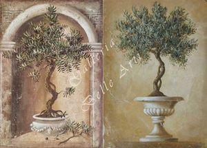 AFFRESCHI BABILONIA -  - Wanddekoration