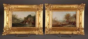 Galerie Atena -  - Ölgemelde Auf Leinwand Und Holztafel